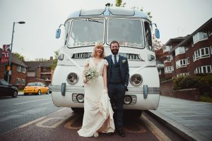 Retro Bus Wedding