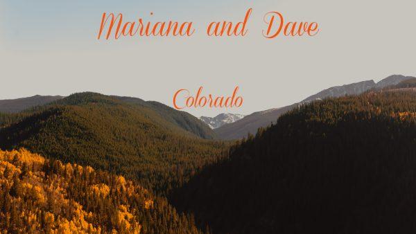 Mariana and Dave