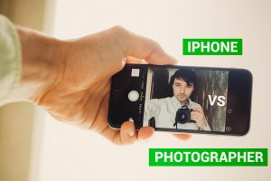 IPhone vs Photographer