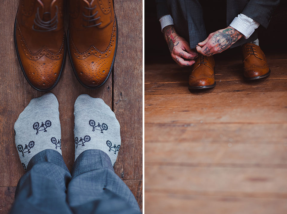 Wedding shoes must be comfortable