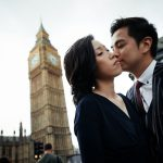 Hester and Marco engagement in London